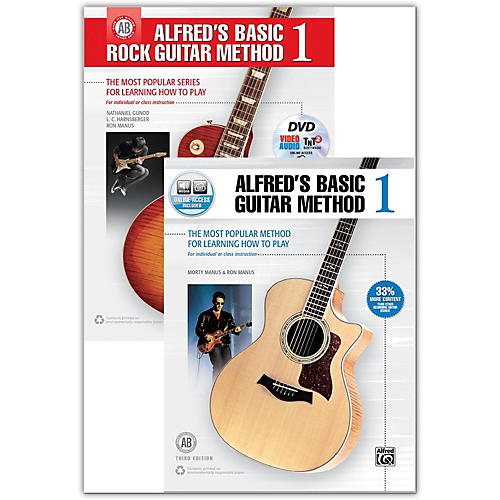 Alfred Guitar Method *With Free Book* Bundle of 00-43505 and 00-41455