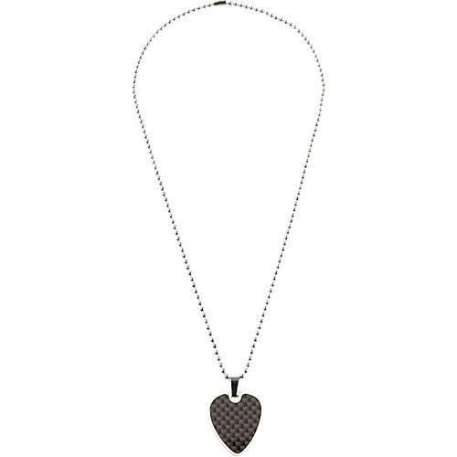 rock punk fashion summer collections rope guitar artistic of black pendant logo music heart necklace bcbb review band pick products pod second
