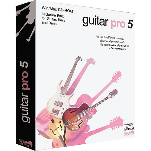 eMedia Guitar Pro 5.1 Multitrack Tab Editor