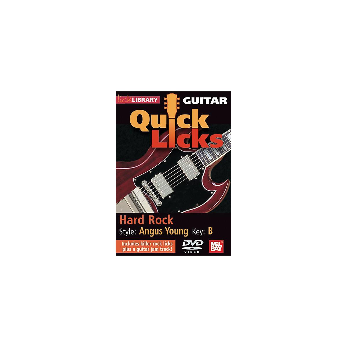 Mel Bay Guitar Quick Licks - Angus Young Style, Hard Rock (DVD)