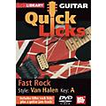 Mel Bay Guitar Quick Licks - Van Halen Style, Fast Rock thumbnail