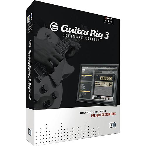 Native Instruments Guitar Rig 3 Software Edition