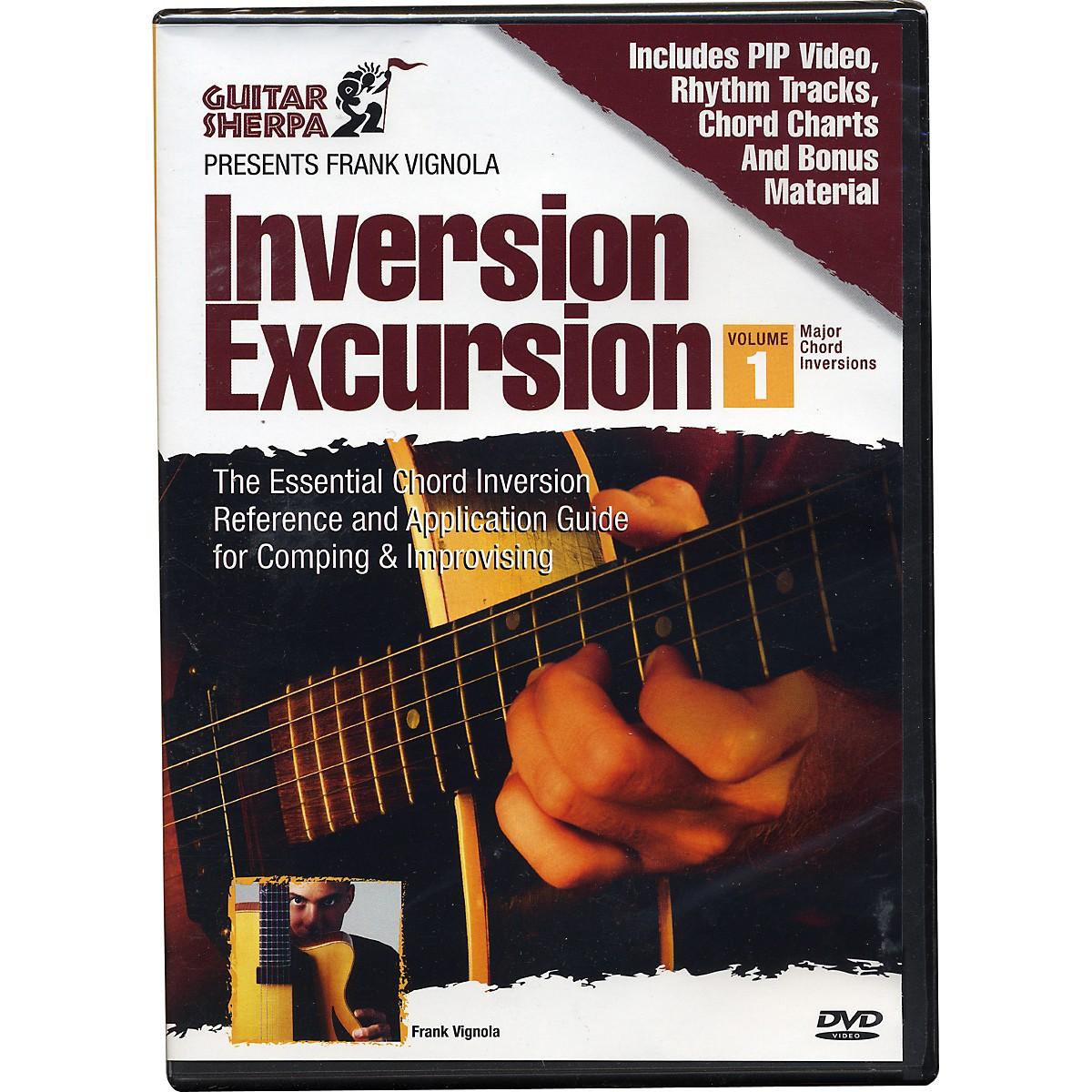 Music Sales Guitar Sherpa Presents Frank Vignola: Inversion Excursion (DVD)