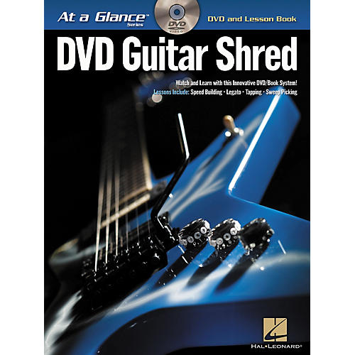 Hal Leonard Guitar Shred At a Glance Series (Book/DVD)