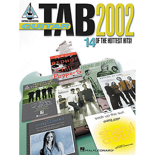 Hal Leonard Guitar Tab 2002 Book
