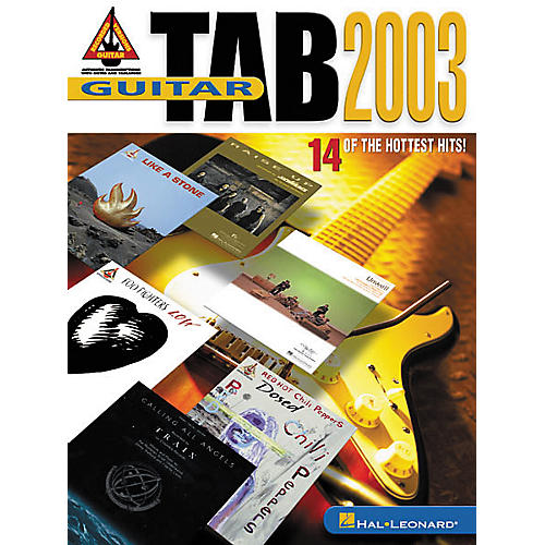 Hal Leonard Guitar Tab 2003 Book