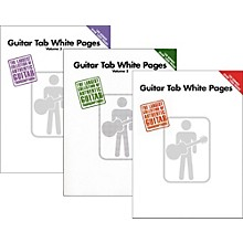 Hal Leonard Guitar Tab White Pages Vol. 1 - 3