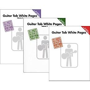 Hal Leonard Guitar Tab White Pages Vol  1 - 3