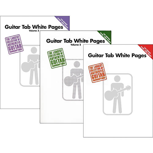 Hal Leonard Guitar Tab White Pages Vol. 1 - 3  sc 1 st  Guitar Center & Hal Leonard Guitar Tab White Pages Vol. 1 - 3 | Guitar Center