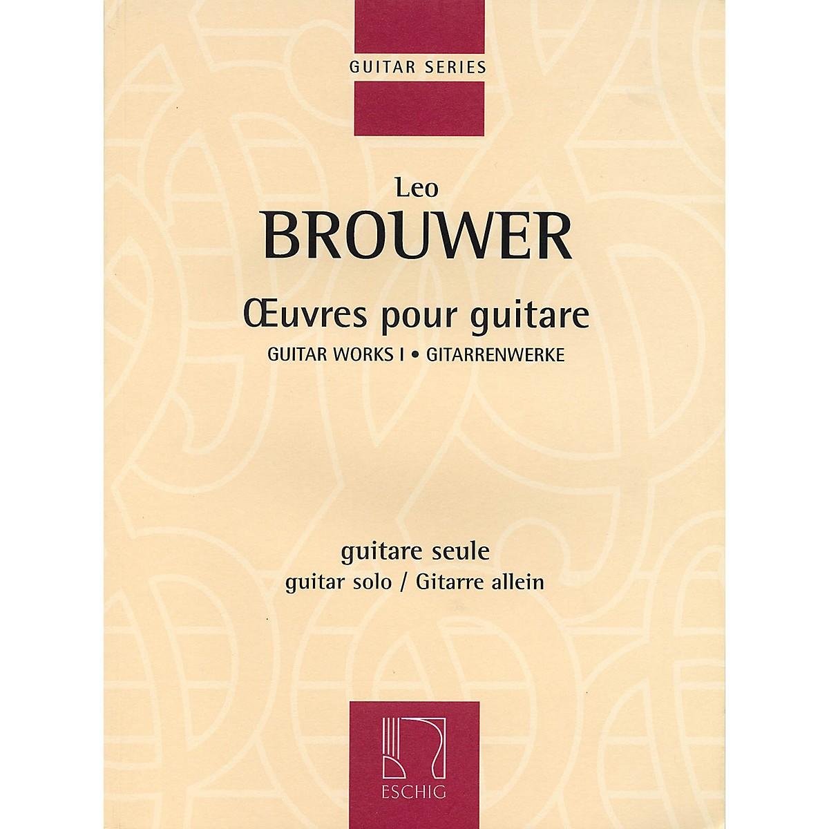Max Eschig Guitar Works I (Guitar Solo) Editions Durand Series Softcover