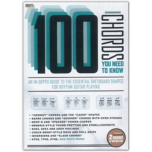 Guitar World Guitar World: 100 Chords You Need to Know DVD ...