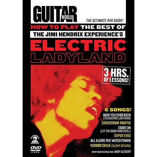Alfred Guitar World How To Play The Best of The Jimi Hendrix Experience's Electric Ladyland DVD
