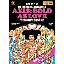 Alfred Guitar World How To Play The Jimi Hendrix Experience's Axis: Bold As Love (DVD)