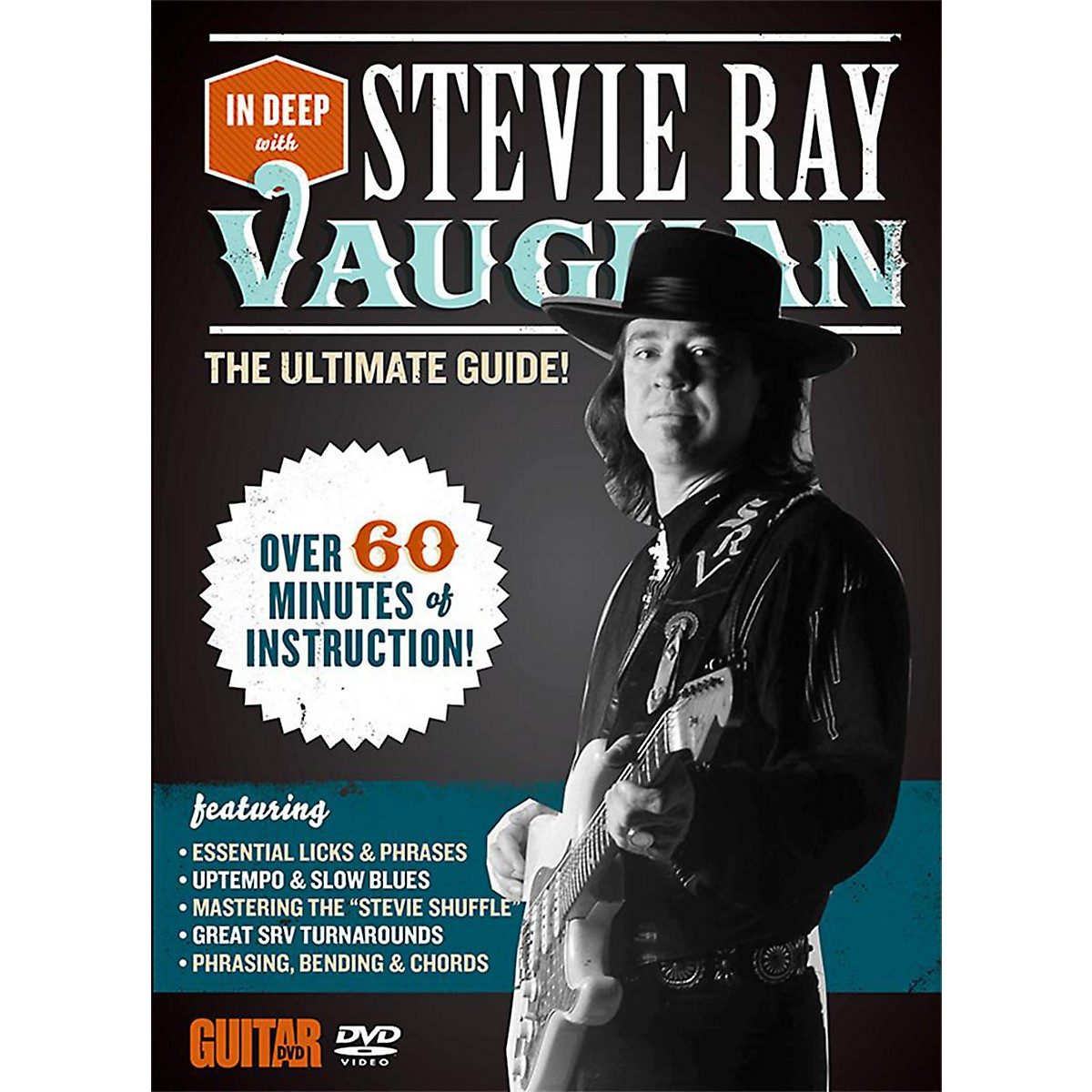 Alfred Guitar World In Deep with Stevie Ray Vaughan DVD