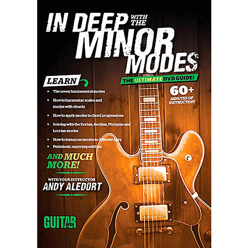 Guitar World Guitar World: In Deep with the Minor Modes DVD Intermediate