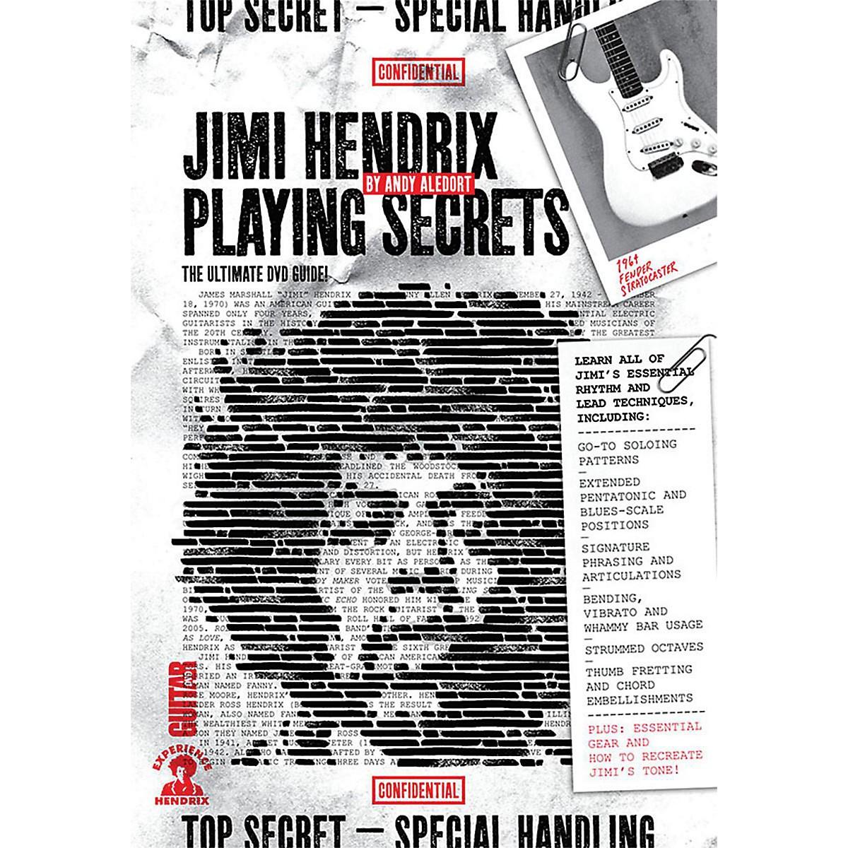 Guitar World Guitar World: Jimi Hendrix Playing Secrets Intermediate DVD