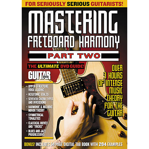 Alfred Guitar World Mastering Fretboard Harmony 2 DVD