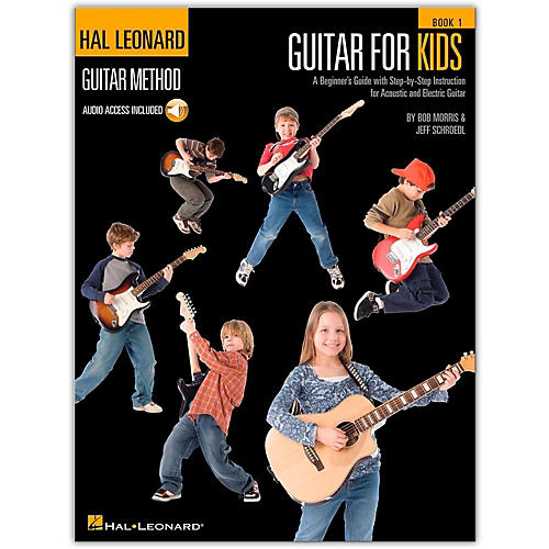 Hal Leonard Guitar for Kids - Hal Leonard Guitar Method (Book/Online Audio)