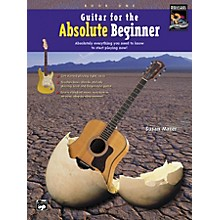 Alfred Guitar for the Absolute Beginner 1 Book/CD