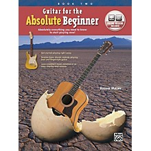 Alfred Guitar for the Absolute Beginner, Book 2 Book & Online Audio Beginner