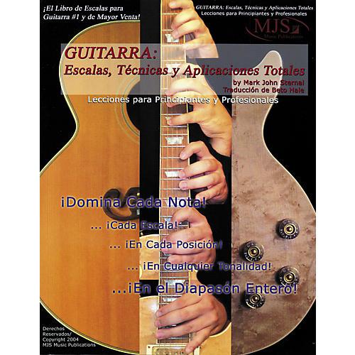 MJS Music Publications Guitarra: Escalas, Tecnicas y Aplicaciones Totales (Spanish Book)