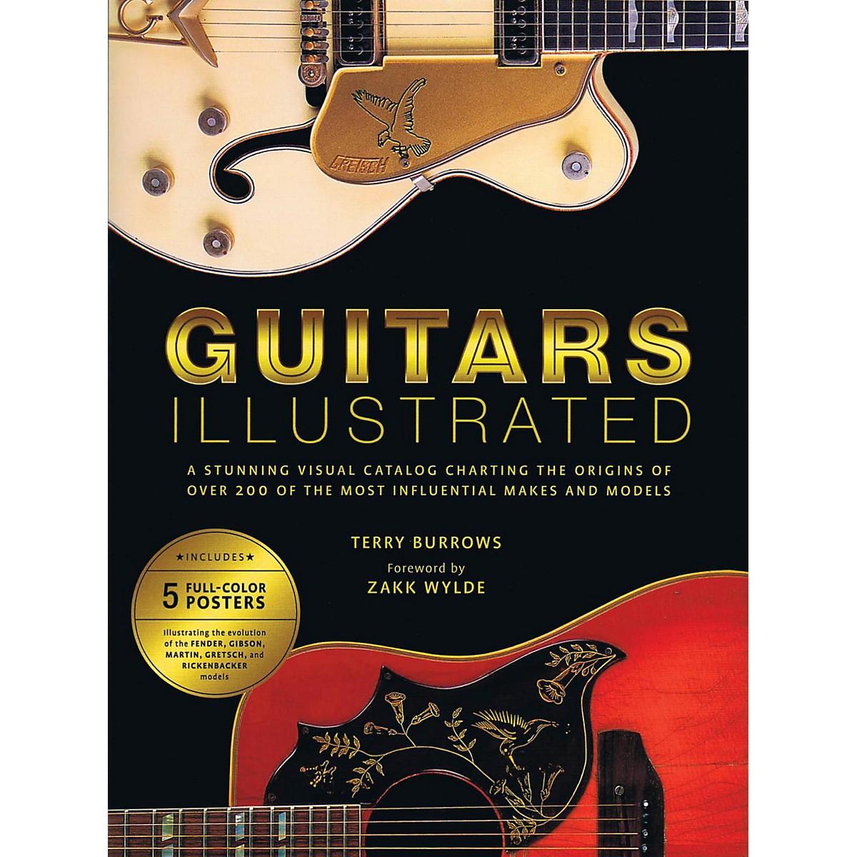 Hal Leonard Guitars Illustrated: A Stunning Visual Catalog Charting The Origins Of Over 200 Guitars