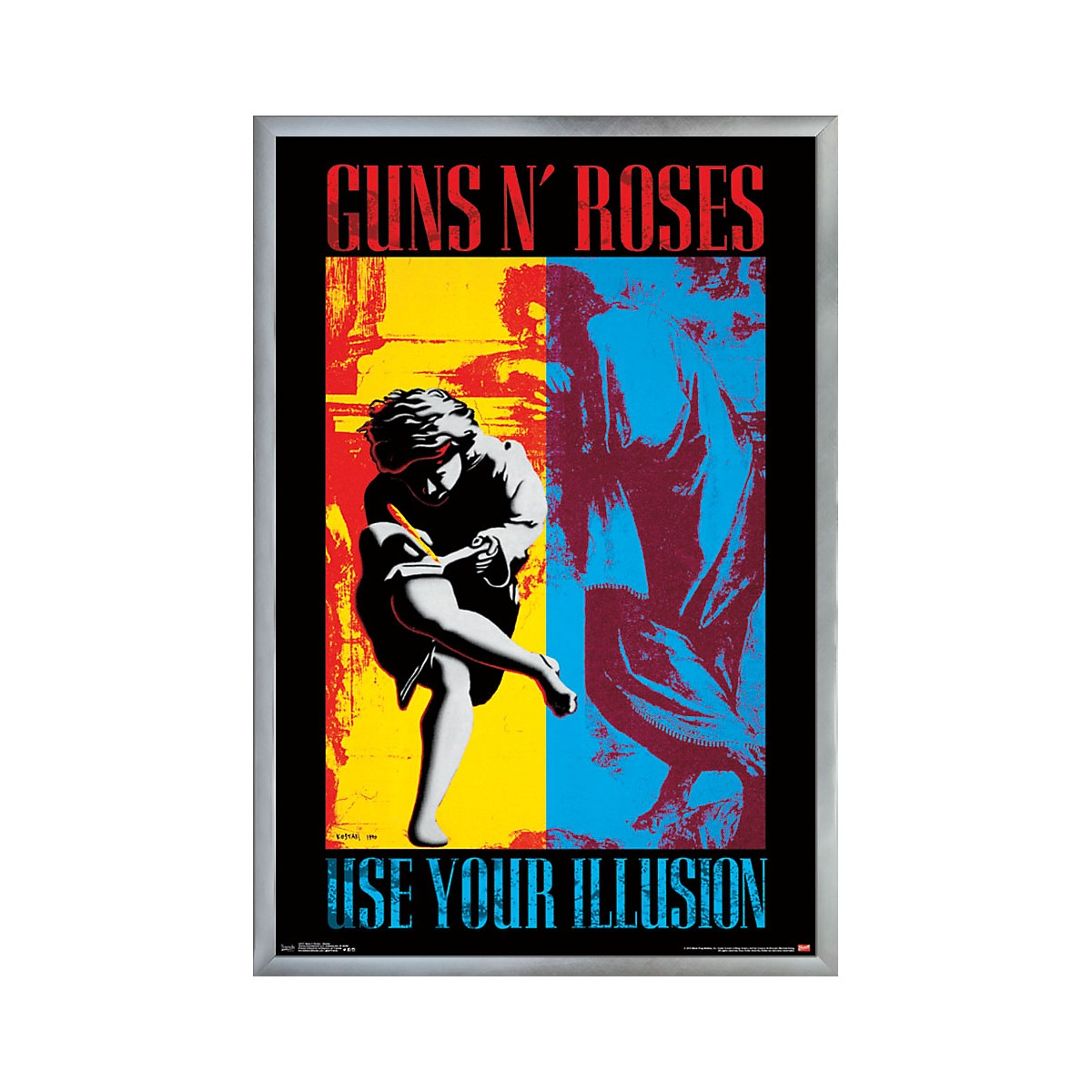 Trends International Guns N Roses - Illusion Poster