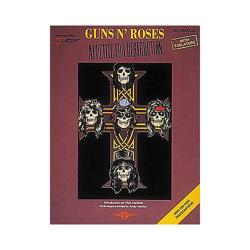 Cherry Lane Guns N' Roses Appetite for Destruction Guitar Tab Songbook