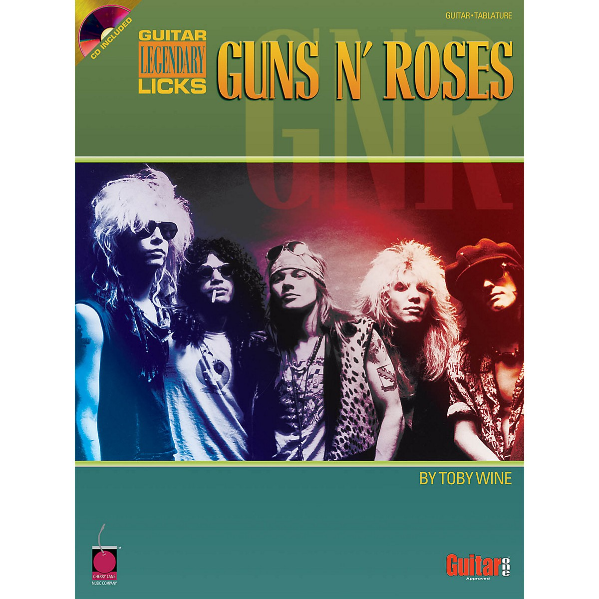 Hal Leonard Guns N' Roses Legendary Licks (Book/CD)