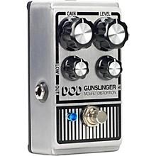 DOD Gunslinger DOD Mosfet Distortion Guitar Effects Pedal Level 1
