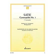 Schott Gymnopédie No. 1 (Arranged for Alto Saxophone and Piano) Woodwind Series Book