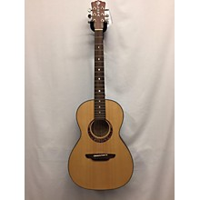 Luna Guitars Gypsy Parlor Acoustic Electric Guitar