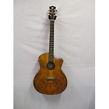 Luna Guitars Gypsy Spalt Acoustic Acoustic Guitar