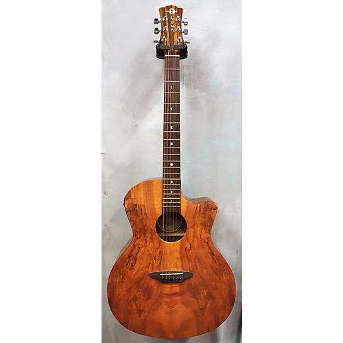 Luna Guitars Gypsy Spalt Acoustic Electric Acoustic Electric Guitar