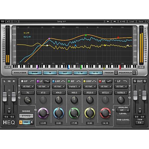 Waves H-EQ Hybrid Equalizer  Native/TDM/SG Software Download