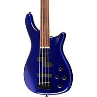 Rogue Lx200bf Fretless Series Iii Electric Bass Guitar Metallic Blue