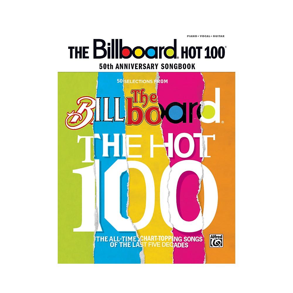 Alfred Billboard Magazine Hot 100 50th Anniversary Songbook PVC 1279141555490