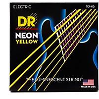 Dr Strings Neon Hi-Def Yellow Superstrings  ...