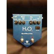 Visual Sound H20 LIQUID CHROUS & ECHO Effect Processor