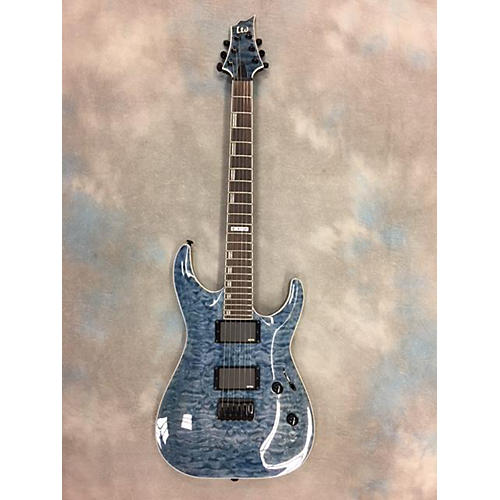 ESP H401QM Solid Body Electric Guitar