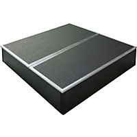Control Acoustics Portable Stage With Rubber Diamond Mat Surface 3 X 3 Ft.
