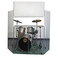Control Acoustics Acrylic Drum Shield With  ...