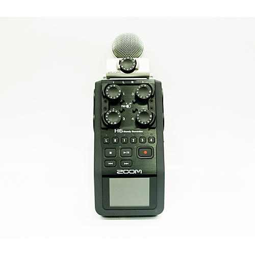 used zoom h6 multitrack recorder guitar center