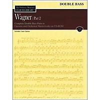 Orchestra Musician's Cd-Rom Library Vol 12 Wagner Part 2 Double Bass