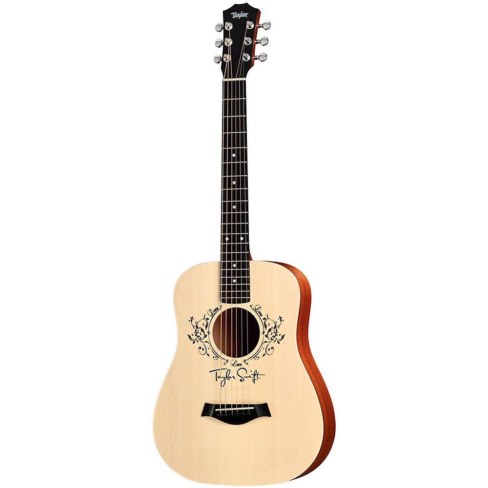 Taylor Taylor Swift Signature Baby Acoustic Guitar Natural 3/4 Size Dreadnought
