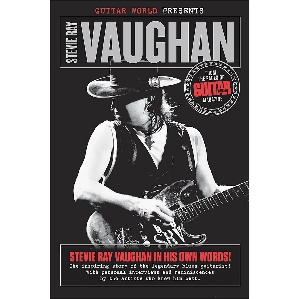 Hal Leonard Guitar World Presents: Stevie Ray Vaughan Book 1283462207083