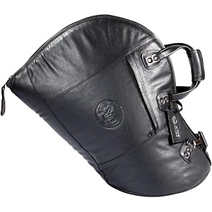 Gard Mid-Suspension Fixed Bell French Horn Gig Bag 41-Mlk Black Ultra Leather