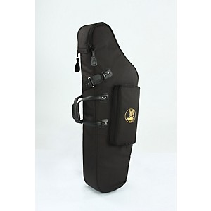 Gard Mid-Suspension Em Low A Baritone Saxophone Gig Bag 106-Msk Black Synthetic W/ Leather Trim