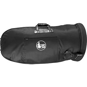 Gard Mid-Suspension Medium Tuba Gig Bag 62-Mlk Black Ultra Leather
