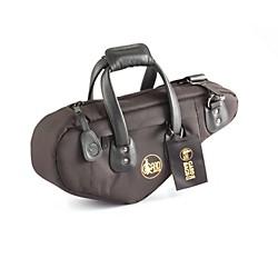 Gard Curved European Soprano Saxophone Gig Bag 102B-Mlk Black Ultra Leather